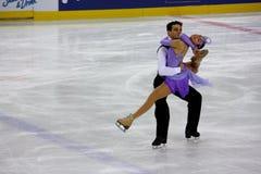 Figura italiana campeonatos do macacão 2009 da patinagem Imagem de Stock Royalty Free