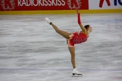 Figura italiana campeonatos do macacão 2009 da patinagem Fotografia de Stock Royalty Free