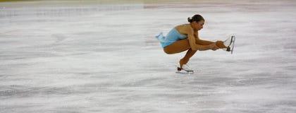 Figura italiana campeonatos do macacão 2009 da patinagem Imagem de Stock