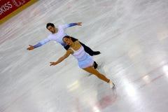 Figura italiana campeonatos do macacão 2009 da patinagem Fotos de Stock
