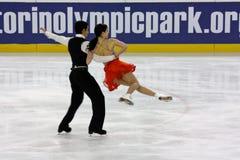 Figura italiana campeonatos do macacão 2009 da patinagem Foto de Stock Royalty Free
