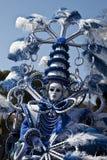 Figura mascherata carnevale fotografia stock