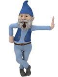 Figura masculina de la fantasía Foto de archivo