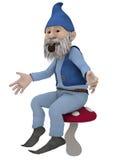 Figura masculina de la fantasía Foto de archivo libre de regalías