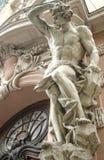 Figura masculina escultura Imágenes de archivo libres de regalías