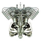 Figura mecânica Fotografia de Stock