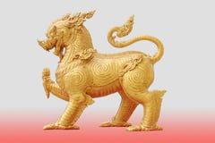 Figura modellata del Leo, Fotografie Stock