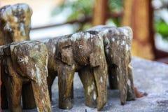 Figura modellata dell'elefante Fotografia Stock Libera da Diritti