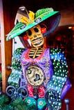 Figura muerta ciudad vieja de la Navidad mexicana de San Diego Foto de archivo libre de regalías