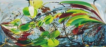 Figura multicolore astratta. Fotografie Stock Libere da Diritti