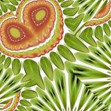Figura multicolore astratta con i reticoli. Fotografia Stock Libera da Diritti