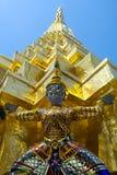 Figura nel grande palazzo a Bangkok Immagine Stock