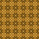 A figura para o parquet, os quadrados e os rombos, colorido, sem emenda Fotografia de Stock