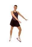 Figura patinador adolescente Fotos de archivo