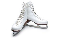 Figura patins fotografia de stock royalty free