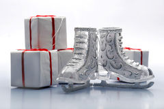 Figura patins Fotografia de Stock