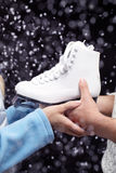Figura patins foto de stock