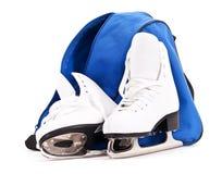 Figura patins das mulheres Fotos de Stock