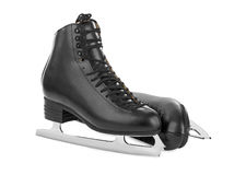 Figura patins preta imagens de stock