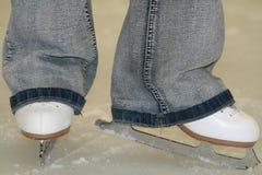 Figura pattinare Fotografie Stock Libere da Diritti