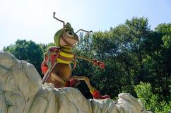 Figura plástica de la abeja Foto de archivo libre de regalías