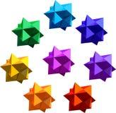 Figura Polyhedral Fotografia Stock Libera da Diritti