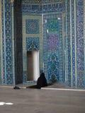 Figura praying da mulher Imagem de Stock