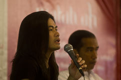 FIGURA PRESIDENTE JOKO WIDODO DEL CINEMA DELL'INDONESIA DI JAY SUBIAKTO Immagine Stock Libera da Diritti