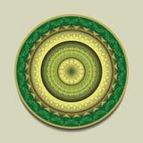 Figura redonda abstracta Imagen de archivo