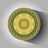 Figura redonda abstracta Imágenes de archivo libres de regalías
