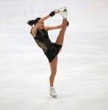 Figura rotação da patinagem foto de stock royalty free