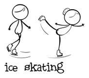 Figura semplice di sport royalty illustrazione gratis