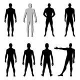 Figura sistema del hombre de la moda Fotografía de archivo