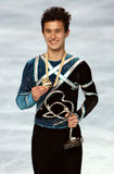 Figura skater Patric de Canadá Fotografia de Stock