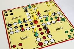 Figura sorte do jogo do jogo do boardgame irritada Imagem de Stock Royalty Free