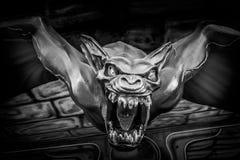 Figura spaventosa ad una casa frequentata ad un festival piega a Regensburg Immagine Stock