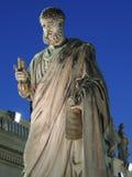 Figura St Peter no Vaticano Fotografia de Stock Royalty Free