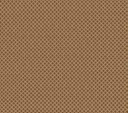 Figura tetrahedral repetitiva da areia marrom da textura Fotos de Stock