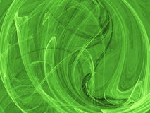 Figura verde astratta Fotografia Stock Libera da Diritti