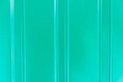 Figura verde de la textura de acanalado Foto de archivo libre de regalías