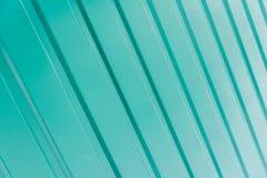 Figura verde de la textura de acanalado Fotografía de archivo libre de regalías