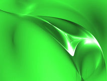 Figura verde di plastica illustrazione di stock