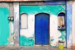 Figura vergine messicana Guadalupe caraibico tropicale Fotografia Stock
