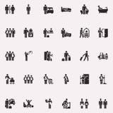 figura vida del palillo lejos Imágenes de archivo libres de regalías
