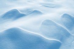 Figura viento en nieve Imagen de archivo libre de regalías