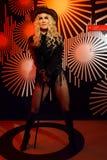 Figura woskowa madonna przy Madame Tussauds wosku muzeum zdjęcie royalty free