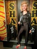 Figura woskowa Olivia Newton-John od 'tłuszcza' Obraz Royalty Free