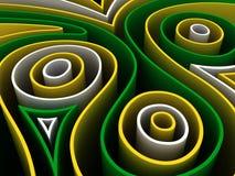 Figuras abstractas Imagen de archivo libre de regalías