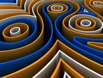 Figuras abstractas Foto de archivo libre de regalías