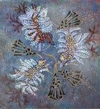 Figuras abstractas de pájaros Fotografía de archivo libre de regalías